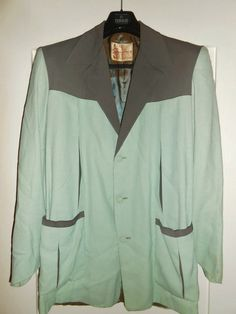 50s Hollywood jacket - label Sportimer