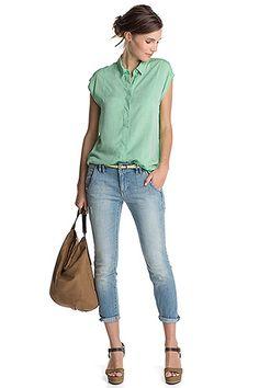 Esprit : Jean stretch 5 poches à acheter sur la Boutique en ligne
