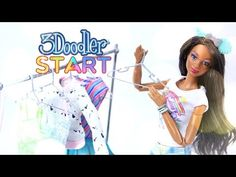 DIY - How to Make: 3Doodler - Doll Accessories - 4K - YouTube
