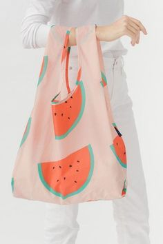 These Cheap Items Will Change Your Life #refinery29  http://www.refinery29.com/cheap-home-decor#slide-7  When we're not taking this adorable tote to the farmer's market or the beach, we'll make sure it's prominently hanging in our bedroom.Baggu Standard Baggu in Peach Watermelon, $9, available at Baggu. ...