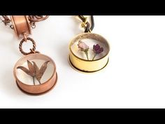 How to Embed Organics in Resin Mini Tutorial Video with Becky Nunn