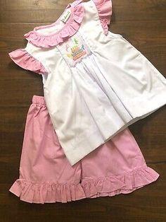RALPH LAUREN baby girl Big Pony neon pink DRESS SET 9//12 12//18M ruffles BNWT