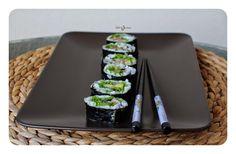 Niebo na Językach by Magdalena Sokołowska: Jak zrobić sushi w domu krok po kroku?