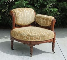 Victorian Eastlake rocking chair  Furniture - Victorian Eastlake ...