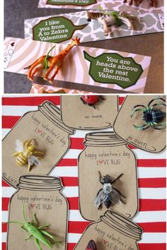 Tons of great goofy valentine ideas for boys. Cause, what boy wouldn't like a silly buggy valentine?
