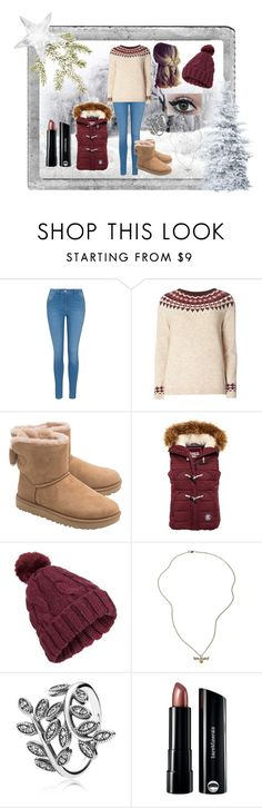 """Winter Outfit"" by unitedbypotter ❤ liked on Polyvore featuring Polaroid, George, Dorothy Perkins, UGG, Superdry, Miss Selfridge, Warner Bros., Pandora and Bare Escentuals"
