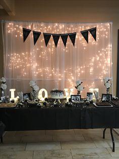 DIY Kate Spade, Anniversary, Wedding, Bridal Shower backdrop