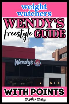 Get the scoop on Wendy's Weight Watchers points guide! Find out how many points your favorite menu items are, then make your way to the nearest drive thru! Weight Watchers Restaurant Points, Weight Watchers Points Guide, Plats Weight Watchers, Weight Watchers Program, Weight Watchers Free, Weight Watchers Desserts, Kiwi Fruit Tea, Chocolate Frosty, Ww Points