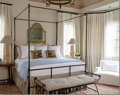 Bedroom, Houston look, French country interiors,