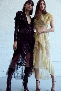 Backstage at Rodarte SS17