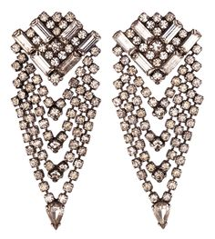 MARIELLA - Earrings Lightweight earrings made of Swarovski crystals Hand-made in New York (with Love)  $245.00
