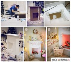 How to make a cardboard Fireplace that doesn't look cheap and gives a nice atmosphere to the room :)