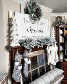 Twas the Night Before Christmas memories. Sign made by @anchoredsoulsigns. Amy Kinser