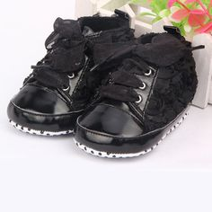 Beige 11cm Alamana Fashion Bowknot Warm Newborn Baby Infant Soft Anti-Slip Prewalker Toddler Shoes
