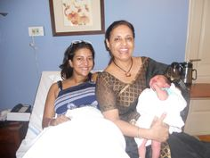 IVF Specialist Dr.Rita with her patient Prashanto in India