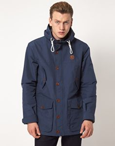Even with the discounted price, I find it preposterously pricy. I mean, it's 100% made by nylon. -- Fred Perry Parka Hooded