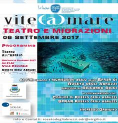 Vite (A)mare  Teatro e migrazioni spettacolo per e con gli ospiti dello Sprar