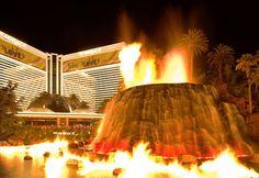 Mirage Volcano, Las Vegas