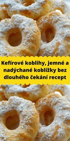 Kefir, Doughnut, Food And Drink, Sweets, Cookies, Desserts, Bakken, Crack Crackers, Tailgate Desserts