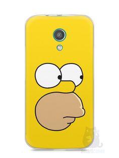 Capa Moto G2 Homer Simpson Face - SmartCases - Acessórios para celulares e tablets :)