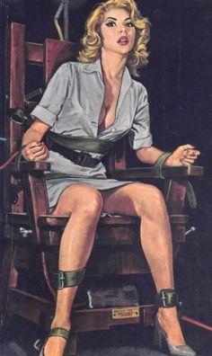 Female executions erotic peril art
