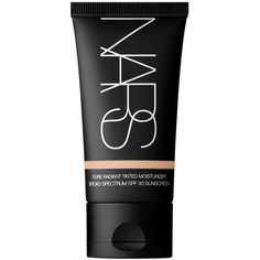 NARS Terre Neuve Pure Radiant Tinted Moisturizer Broad Spectrum SPF 30 ($44) ❤ liked on Polyvore featuring beauty products, makeup, face makeup, tinted moisturizer, beauty, fillers, cosmetics, faces, terre neuve and nars cosmetics