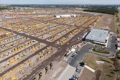 My happy place! If you've never been, please go!!! Toys as far as the eye can see. Ritchie Bros. Orlando auction site.