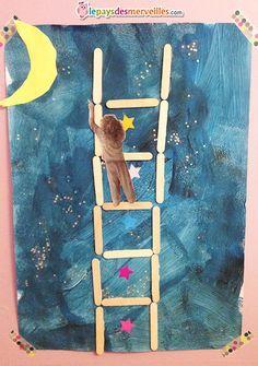activité peinture collage Fathers Day Art, Fathers Day Crafts, Diy For Kids, Crafts For Kids, Arts And Crafts, Preschool Art, Craft Activities For Kids, Animation Classes, Jr Art