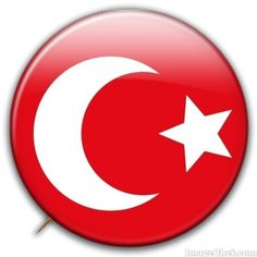 Ottoman Empire flag badge