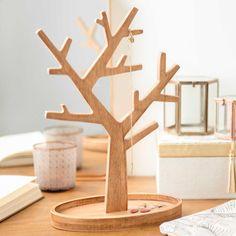 Porte-bijoux en bois H 30 cm ESCOBA TREE