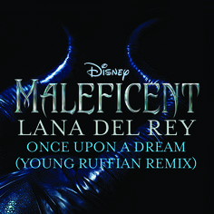 "In celebration of Maleficent on Blu-ray and Digital HD we're sharing a new remix of Lana Del Rey's ""Once Upon A Dream"" - available now! http://di.sn/eyD"