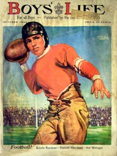 Boys' Life 1930-10 - Football