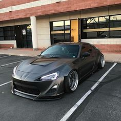 #Toyota_BRZ #Modified #WideBody #Slammed