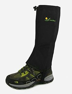 "Camping Packing :""Leg Gaiters Ideal for Hiking : Climbing and Outdoor Activities. Easy to Use"" -- Review more details here"