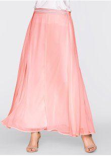 Макси-юбка, BODYFLIRT, нежно-розовый