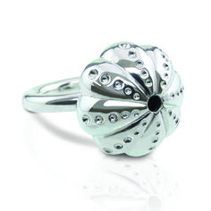 Evador Sea Urchin ring hand made in sterling silver.