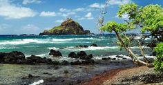 Koki Beach - A Quaint Red Sand Beach in East Maui, Hawaii