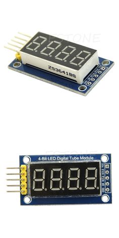 4 Bits Digital Tube LED Display Module Four Serial for Arduino 595 Driver