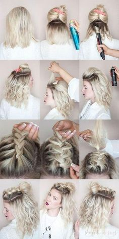 27 Braid Hairstyles for Short Hair that are Simply Gorgeous #PromHairstylesBraid