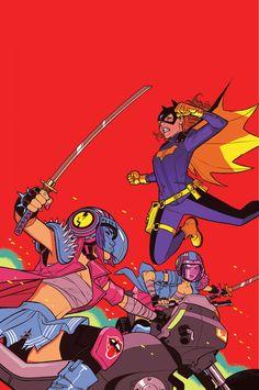 Batgirl #36 cover, 2014 Cameron Stewart
