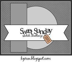 the sweetest thing...: Sweet Sunday Sketch Challenge 203