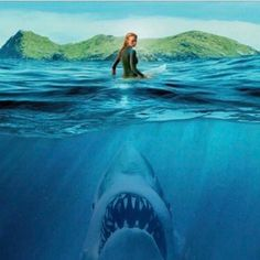 NEW BLOG: Why Is Jaws STILL Considered The Greatest Shark Movie Of All Time? Visit thedailyjaws.com to find out - link in the bio
