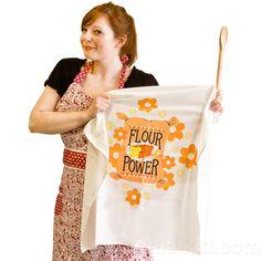 FLOUR POWER FLOUR SACK TOWEL