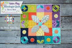 Color Play Holiday Mini Quilt « Moda Bake Shop