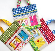 cottage bags by flutterby patch