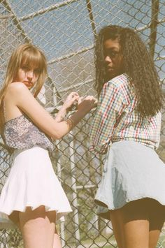 Bright prints and skirts. #AmericanApparel  #spring