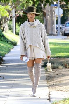 Kat Graham kept it cute and chill while out in L.A.