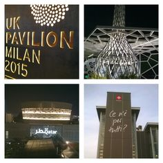 Expo 2015 by night