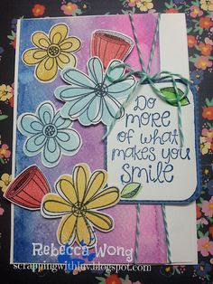 Scrapping with LUV: Unity FWF Challenge: Smile July Sentiment Kit
