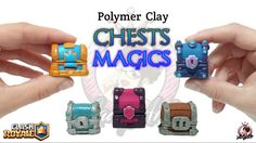 Chests Magics | Clash Royale | Polymer Clay Tutorial #2